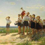 Soviet artist Nikolay Belyayev 1916-2004