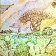 High-mountain meadow. 1975. R.A. Niyazbaev
