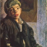 Homeless. 1925. Oil
