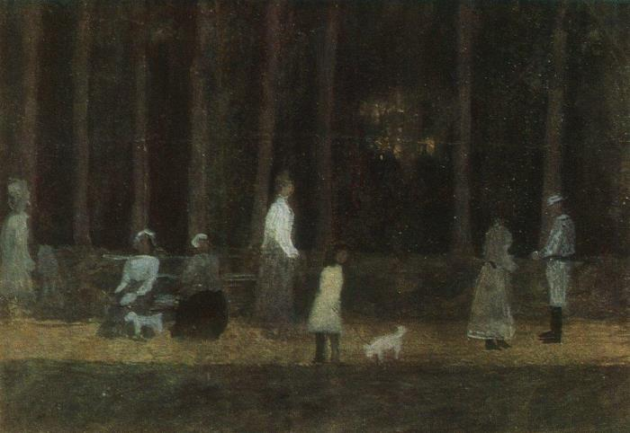 In the park. 1910s