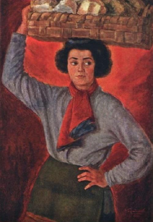 Italian woman. 1930