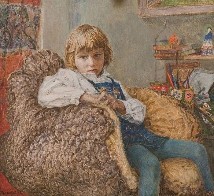 Karina. Portrait of a daughter, 1977