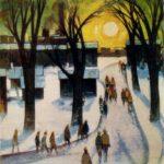 Soviet Latvian artist Laimdot Murniek 1922-2011