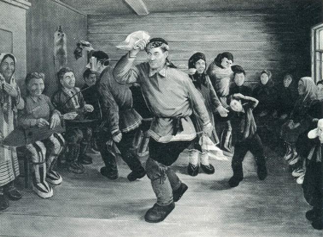 M.A. Tibetev. Celebration. 1976