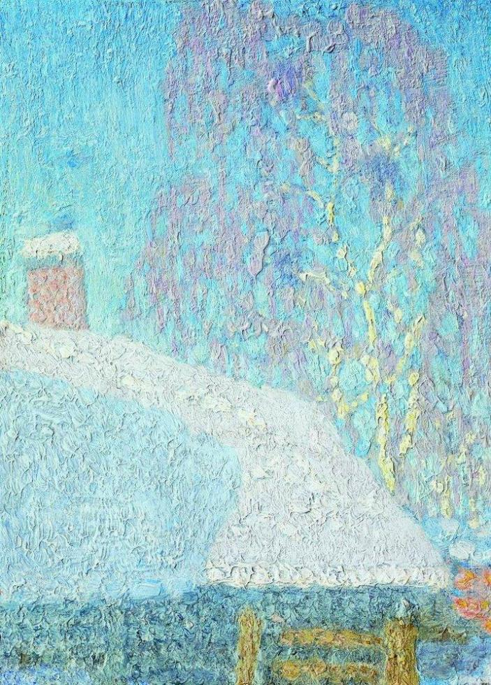 March frost. 1900s