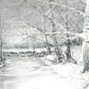 N.M. Nosenko. Winter evening. 1974