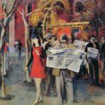 Soviet Armenian painter Sarkis Muradyan 1927-2007
