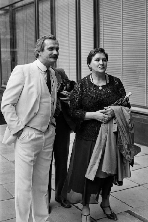 Nikita Mikhalkov, Nonna Mordyukova. 1980s