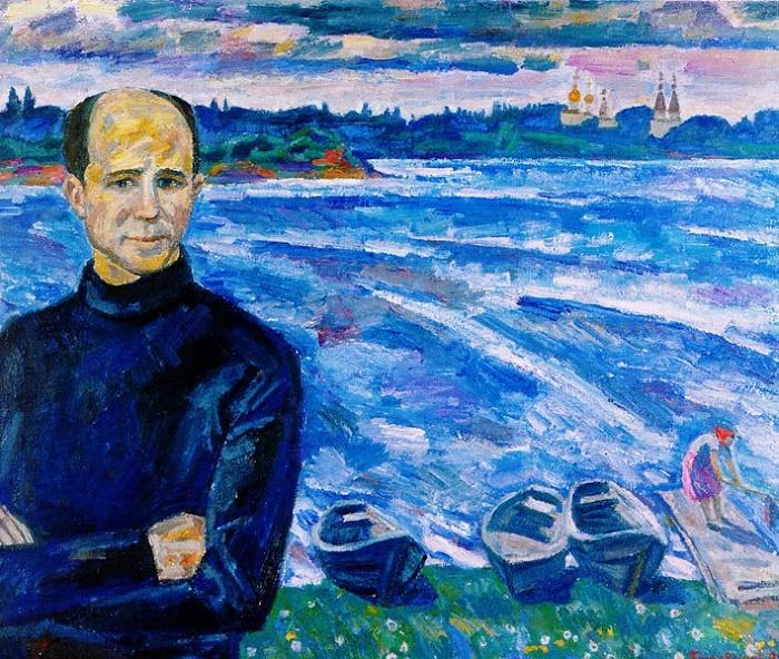 Nikolay Rubtsov in Ferapontovo. 2006