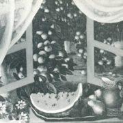 O.S. Leonova. Gifts of nature. 1976