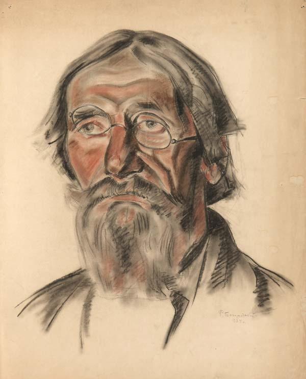 Old man. 1924