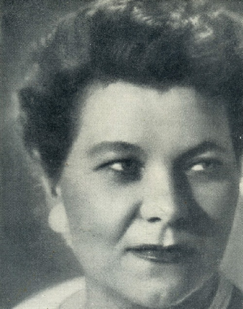 People's artist of the USSR, Soviet female singer Klavdiya Shulzhenko, 1962