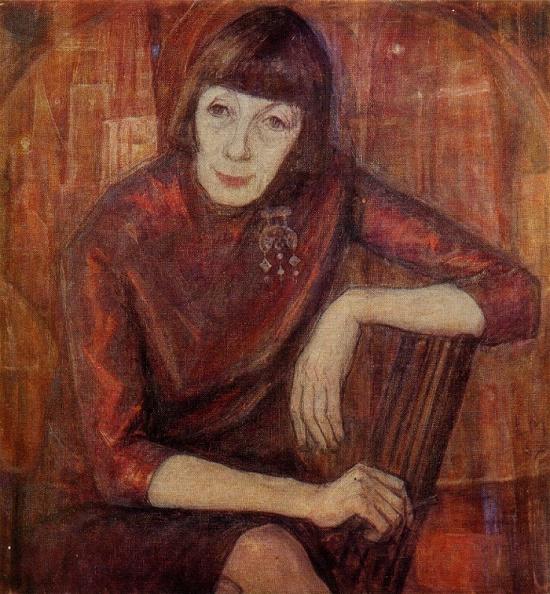Soviet Estonian artist Leili Muuga (1922-2016)