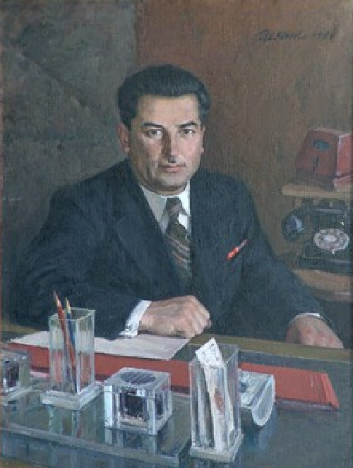 Portrait of Sarkisov. 1948