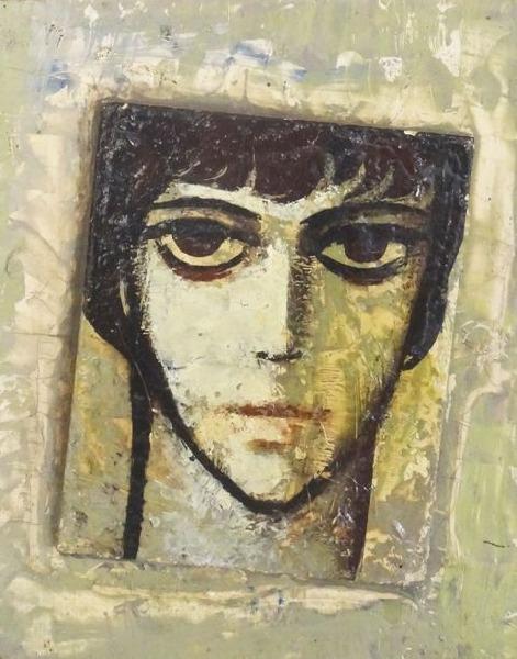 Portrait. 1963. Oil, wood