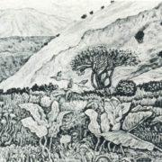R.A. Niyazbaev. High-mountain meadow. 1975