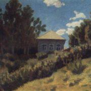 Ryazan hills. 1916