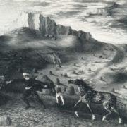 S.V. Sabanov. Gust of wind. 1975