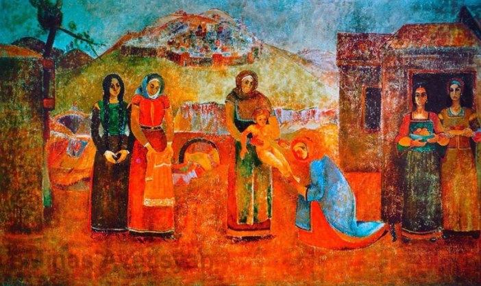 Scene of Armenian life