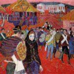 Soviet Moldavian artist Mikhail Greku 1916-1998