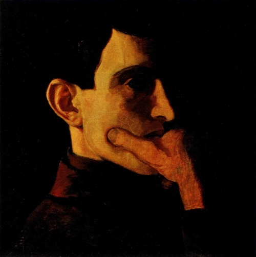 Self-portrait. 1908. TG