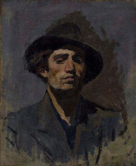 Self-portrait. 1960. Oil on canvas