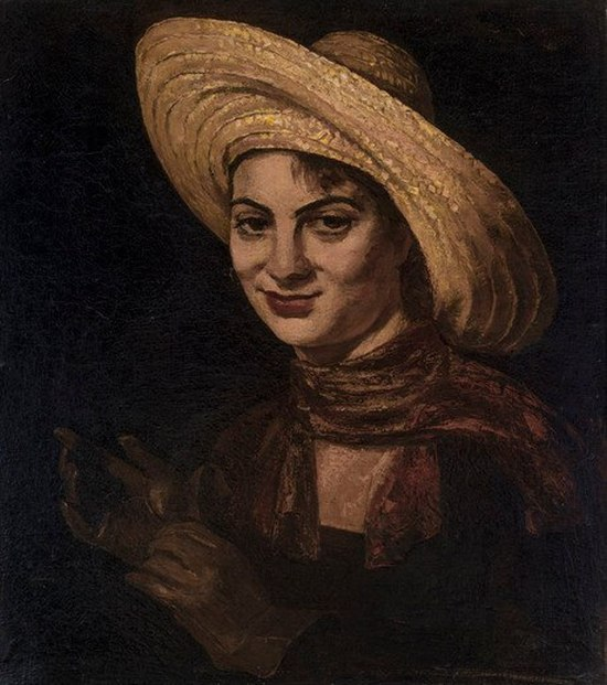 Smiling girl, portrait