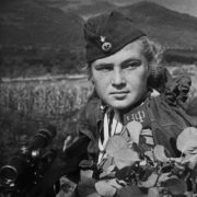 Sniper Liza Mironova, Novorossiysk, 1943