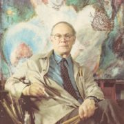 Soviet Estonian artist Evald Okas (28 November 1915 – 30 April 2011)