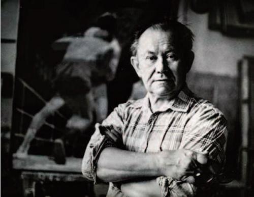 Soviet Ukrainian artist Mikhail Ryasnyansky
