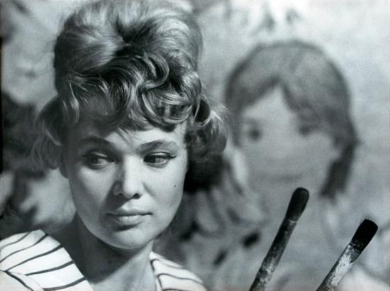 Soviet artist Vilgelmina Dmitriyevna Zazerskaya (born 17 May 1927 in Leningrad, USSR)