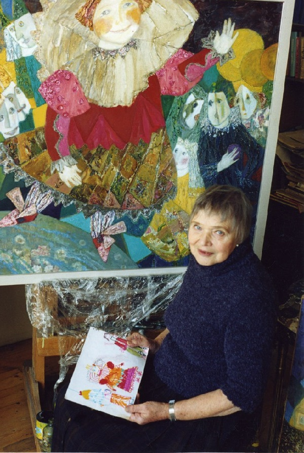 St. Petersburg based artist Vilgelmina Dmitriyevna Zazerskaya