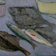 Still life with fish. 1959