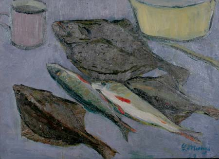 Still life with fish. 1959
