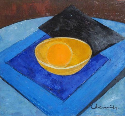 Still life. 1964. Oil, canvas