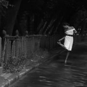 Strastnoy Boulevard. White dress. Moscow, the RSFSR, the USSR. 1989