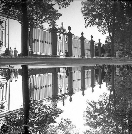 Summer garden. 1970s