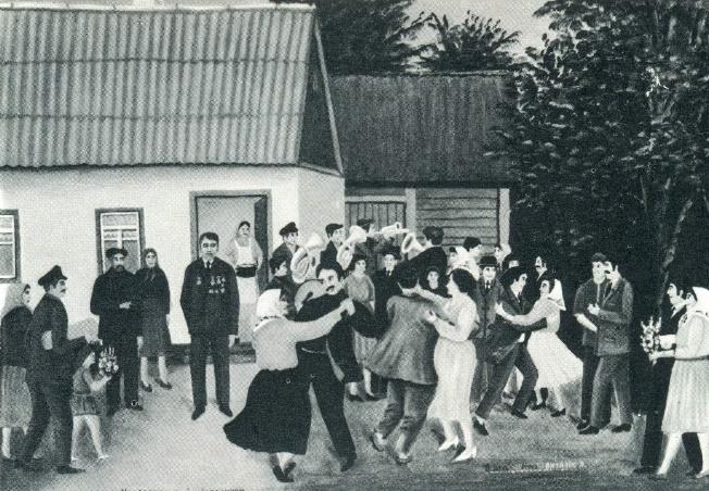 T.D. Chervatyuk. On the deserved rest. 1976