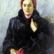 Tamara, artist's wife. 1966