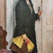 Teacher. Oil, canvas. 1959