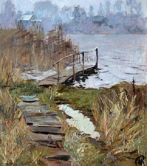 Soviet artist Margarita Dmitrievna Ruban (May 1, 1934 - October 21, 2011)