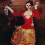 Soviet Armenian artist Alexander Bazhbeuk Melikyan