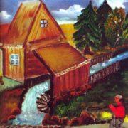 The old mill. A.V. Kiakas. 1975