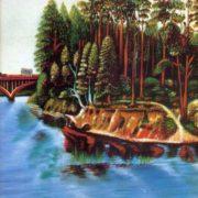 The river. 1975. Sh.S. Ertuganov