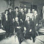 Soviet sculptor Viktor Sinaisky 1893-1968