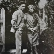 Vladimir Covalli and his wife Klavdiya, 1930s