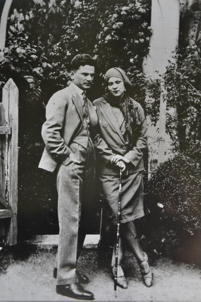 Vladimir Covalli and his wife Klavdiya, 1930s
