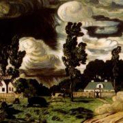 Windy day. 1908. TG