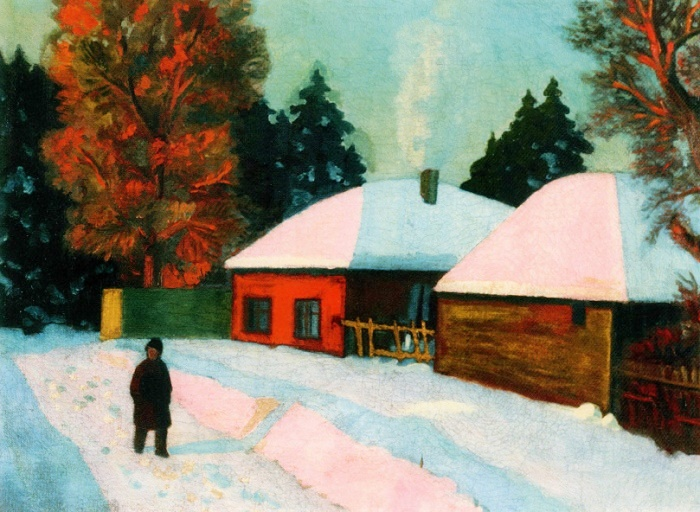 Winter day. 1913