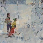 Winter fairy-tale. 1960